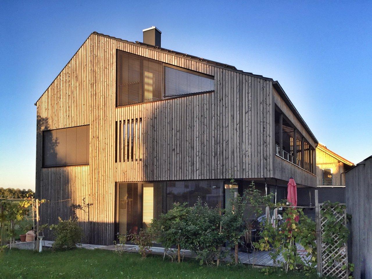 Holz Fassaden holzfassaden schöne optik gute wärmedämmung traczewski malerei gmbh